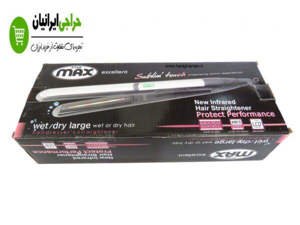 اتو مو کراتینه مکس مدل MAX SM-9023