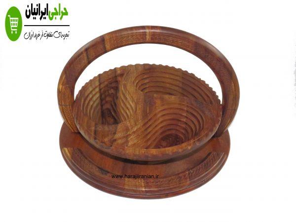 آجیل خوری چوبی تاشو طرح قطره