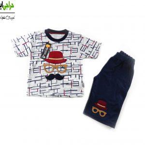 تی شرت شلوارک پسرانه کد 705