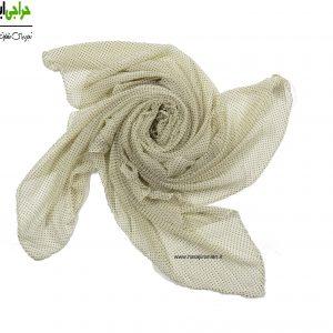 روسری کرپ حریر پلیسه کد 127